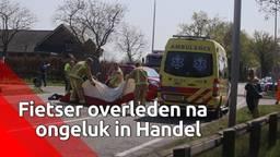 Fietser overleden na ongeluk in Handel