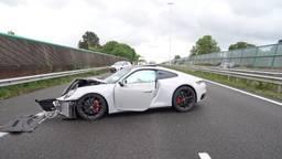 Snelweg A27 dicht bij Nieuwendijk door ongeluk, omleidingsroutes voor verkeer