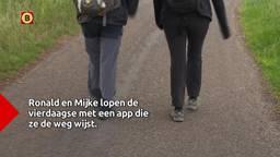 Mijke en Ronald lopen tóch de vierdaagse dankzij een speciale app