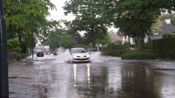 Wateroverlast in Nieuwkuijk
