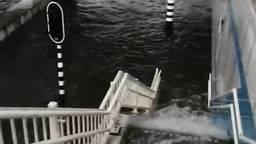 De Henri Dunanttunnel in Helmond staat vol water