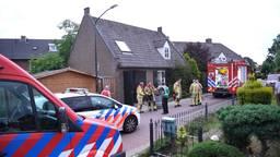 Brand in woning waar drugslab werd gevonden.