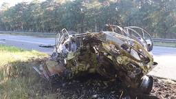 Automobilist zwaargewond bij ongeluk A73