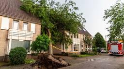 Noodweer trok over Brabant