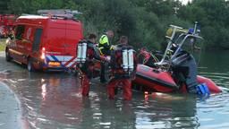 Hulpdiensten zoeken naar vermiste man in Galderse Meren bij Breda