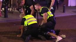 Weer onrust na afloop van kermis in Rosmalen: jongeren gooien met vuurwerk en beledigen agenten