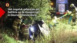 Automobilist overlijdt na ongeluk in Deursen-Dennenburg