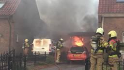 Ravage na carportbrand in Sint-Michielsgestel