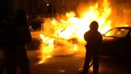 Auto brandt uit in Dommelen