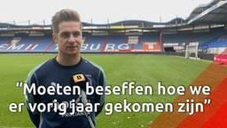 Willem II heeft na succesvolle jaren de wind even tegen: 'We moeten er harder voor werken'