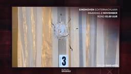 In het huis dat in november werd beschoten in Eindhoven lag een gezin met twee kinderen te slapen.
