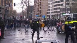 Politie grijpt in bij demonstratie in centrum van Eindhoven
