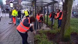 'Ik heb geen moment getwijfeld om mee te doen met opruimactie na rellen in Eindhoven'