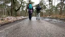Honderdzesenzestig kilometer lopen naar oma