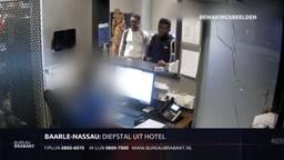 Kamers leeggeroofd in hotel in Baarle-Nassau