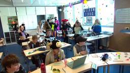 Carnaval op school 2021 in Sambeek