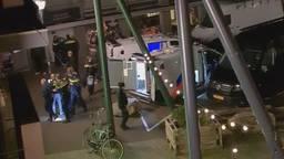 Zestien mannen werden aangehouden aan de Leenderweg in Eindhoven