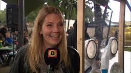 Afgelopen zomer vierde Sharon Theuws nog het leven op haar eigen festival