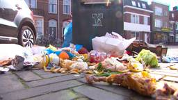 Eindhoven heeft veel last van het dumpen van afval bij containers.