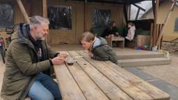 De paashaas heeft het druk op de Brabantse campings.