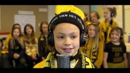 De videoclip van de kinderen van groep 6
