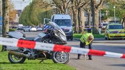 Motoragent onderuit tijdens achtervolging