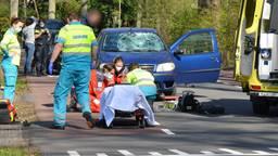 Jongetje op een step aangereden door auto in Breda