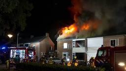 Uitslaande brand verwoest huis in Helvoirt