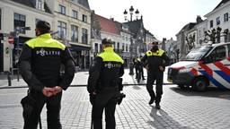 Druk in het centrum van Breda, feestgangers naar huis gestuurd