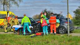 Drie gewonden bij ernstig ongeluk in Valkenswaard