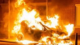 Weer auto in vlammen op in Oss
