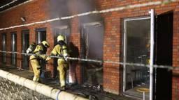 Uitslaande brand verwoest deel Maurick College in Vught