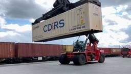 Twee keer zoveel Chinese containers naar Tilburg