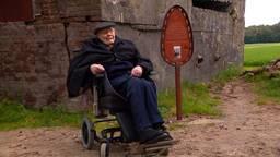 Toon (94) wilde nog één keer naar de plek waar zijn verwoeste huis stond
