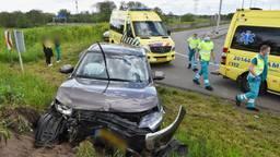Vrouw stribbelt tegen na ongeluk en wordt aangehouden