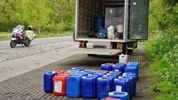 Vrachtwagen vol drugsafval gevonden in Udenhout