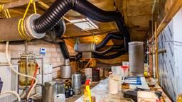 Xtc-lab in verborgen ruimte in loods Tilburg