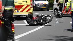 Motorrijder zwaargewond bij ongeluk op de A4, snelweg deels afgesloten
