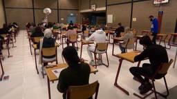 Leerlingen van 't Rijks in Bergen op Zoom maken zich klaar voor hun eindexamen