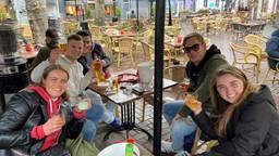 WK terras zitten bij café in Breda: 'Dit is een ware uitdaging'