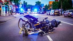 Motorrijder en fietser gewond na botsing in Eindhoven