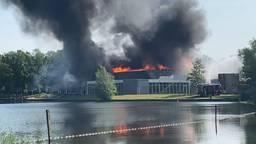 Gast geschokt door brand in restaurant: 'Hebben er gisteren nog gegeten'