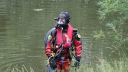 Zoekactie naar vermiste visser in waterplas Kaatsheuvel