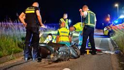 Scooterrijder zwaargewond na ongeluk in Veldhoven