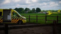 Vrouw zwaargewond na val van paard in Deurne