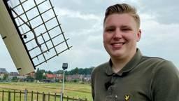 Coen (19) is geslaagd als molenaar: 'Dit is de mooiste hobby ter wereld'