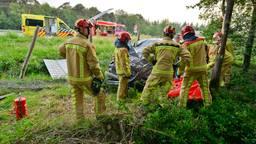 Automobiliste crasht op A67 bij Eersel