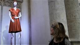 Een jurk van koningin Maxima in de Grote Kerk in Breda