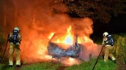 Auto in brand gestoken in Moergestel