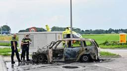 Autobrand en reanimatie op A27: uur vertraging
